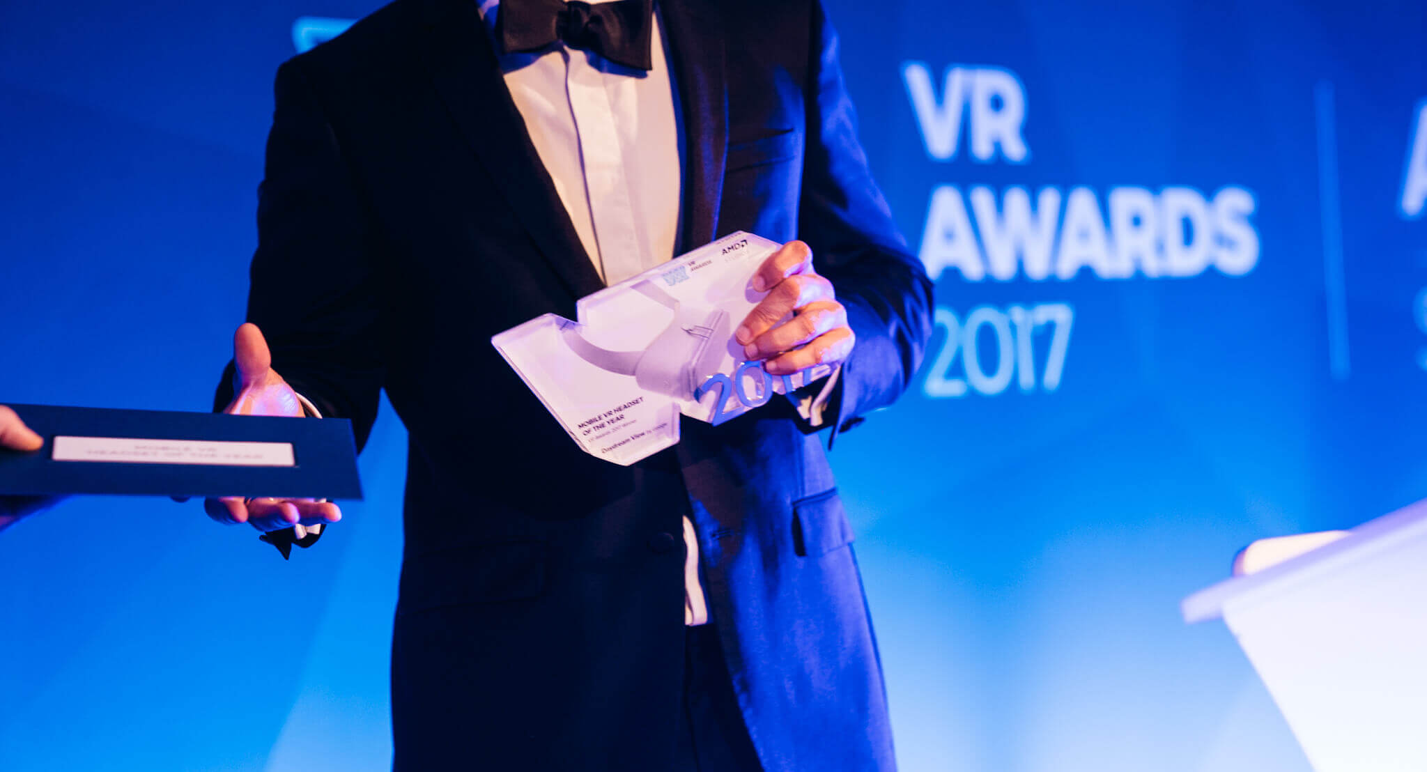 2017 Mobile VR Headset of the Year Winner