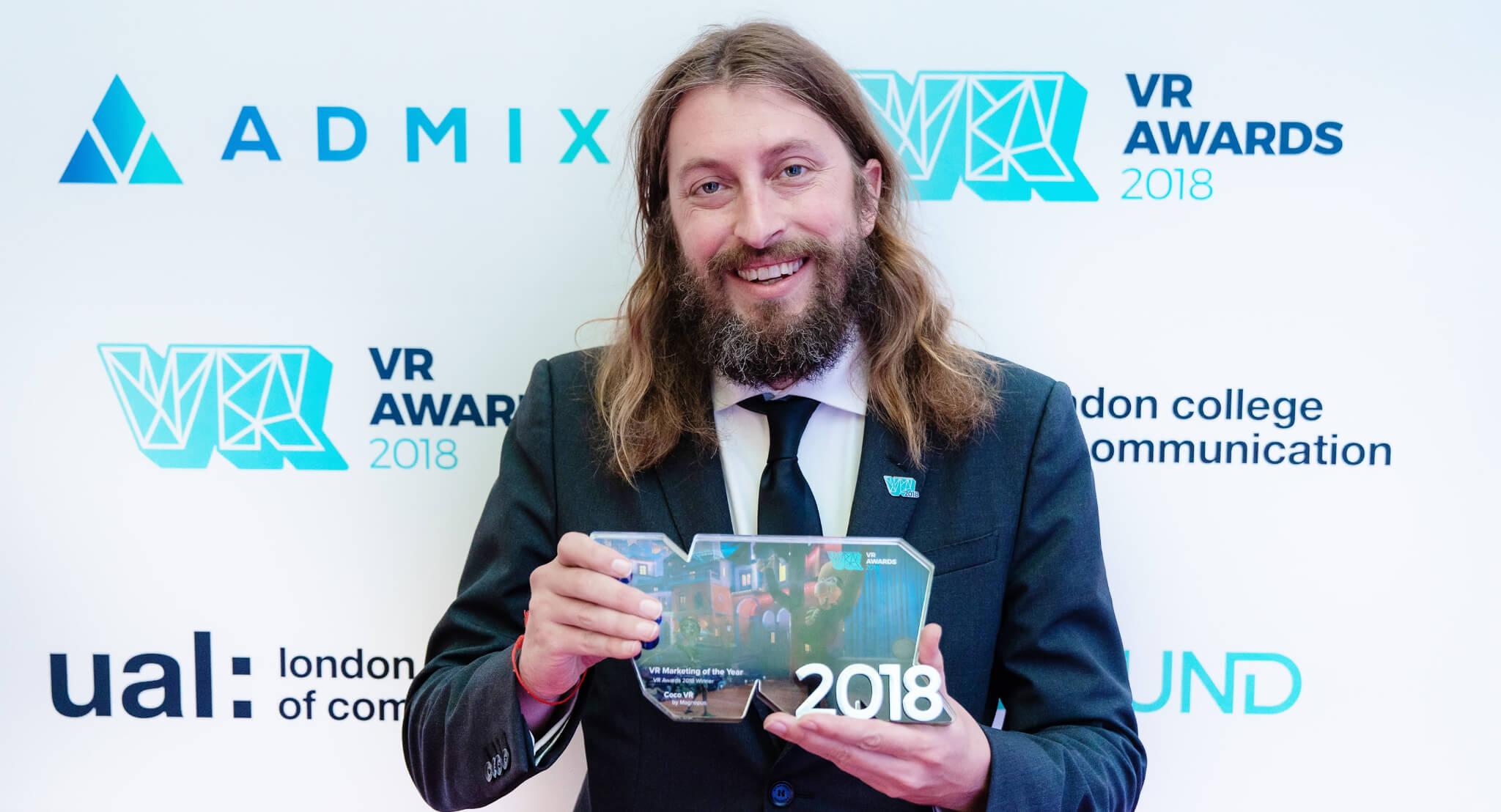 VR Marketing of the Year Winner